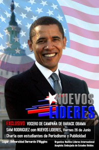 Vocero Obama Nuevos Lideres