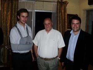 Felipe Riesle de Habsburgo, José Enrique Schroder , Rodrigo Eitel, Fundación Nuevos Líderes