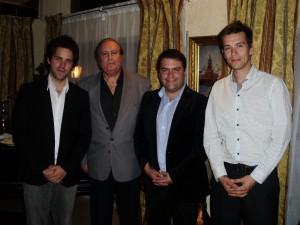 Fundación Nuevos Lideres. Presidente, Vicepresidente y Canciller con Justo Jorge Padrón