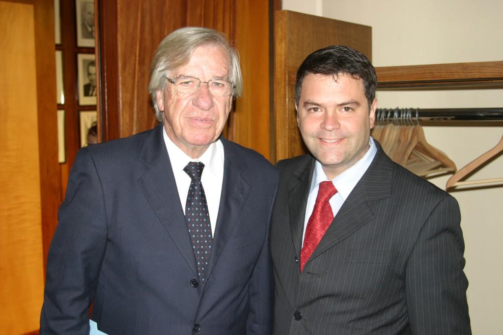 Vicepresidente Uruguay & Presidente Rodrigo Eitel